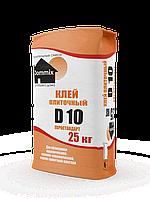 """Плиточный клей """"Евростандарт"""" (25 кг)  D10 Dommix"""