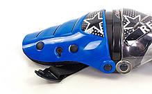 Мотозащита (коліно, гомілка) 2шт Alpinestars MS-4372-BL, фото 2