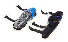 Мотозащита (коліно, гомілка) 2шт Alpinestars MS-4372-BL, фото 3