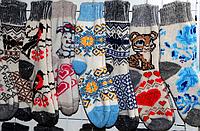 Женские зимние носочки из овчины