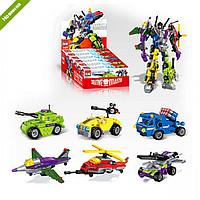 Детский Конструктор 1404 BRICK Транспорт в ассортименте, Лего 1404 Трансформер