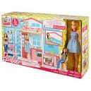 Портативный домик Barbie с куклой, фото 4