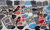 Женские носки из овечьей шерсти - разные цвета