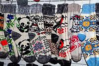 Женские зимние носочки из овечьей шерсти