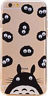 TOTO TPU+PC Case Eye IPhone 6 Plus/6S Plus Hippo Transparent