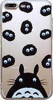 TOTO TPU+PC Case Eye IPhone 7 Plus/8 Plus Hippo Transparent