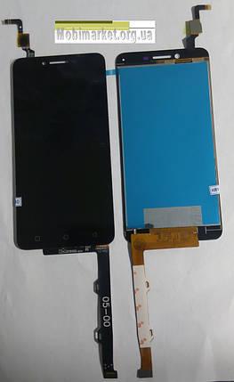 Модуль (дисплей+сенсор) для Lenovo A6020a46 Vibe K5 Plus / Lemon 3 чорний, фото 2