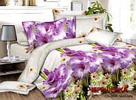 Семейный набор хлопкового постельного белья из Ранфорса №202 Черешенка™