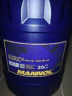 Масло моторное Mannol DIESEL EXTRA 20L SAE 10W-40 API CG-4/CF-4/SJ дизельное.