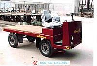 Электрокара (электротележка) платформенная ЕП006, ЕП011 (Балканкар, Balkancar) (без АКБ, кабины и бортов)