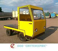 Электрокара (электротележка) платформенная ЕП006, ЕП011 (Балканкар, Balkancar) с кабиной (без АКБ и бортов)