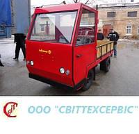 Электрокара (электротележка) платформенная ЕП006, ЕП011 (Балканкар, Balkancar) с кабиной и бортами (без АКБ)