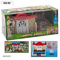 Животные флоксовые Загородный домик 012-04