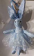 168 Брелоки Hade made, игрушки брелки- куклы заяцы, брелки для сумок и ключей, подарки оптом