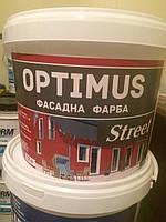 Нанофарб Optimus STREET краска фасадная - 12кг