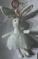 169 Брелок Hade made, игрушки брелки- куклы заяцы, брелки для сумок и ключей, подарки оптом