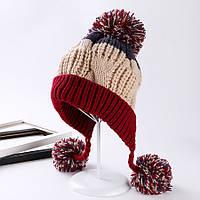 Зимняя шапка Ida, вязаная шапка, женская шапка, шапка связанная в Украине