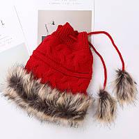 Зимняя шапка Gill, вязаная шапка, модная шапка, женская шапка в Украине