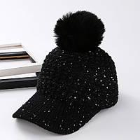 Женская кепка AL7980,вязаная кепка