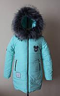 Куртка зимняя  на девочку 6-8 лет, фото 1