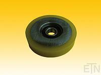 Ролик VSL ø115 / 20 x 24/25 мм VU 83 ° / шт. с стопорным кольцом, 1 x подшипник 6304 2RS, ThyssenKrupp, Запчасти и комплектующие к лифтам