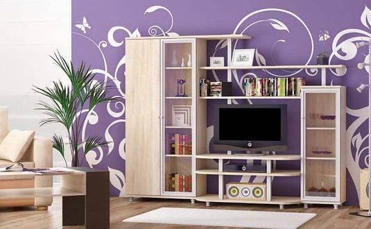 Стенка Рио 3 Мебель-сервис