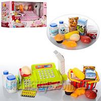Игрушечная касса с продуктами, магазин 888А