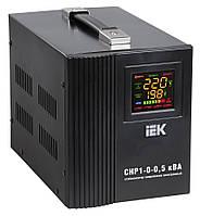 Стабилизатор напряжения Home  1,5 кВА (СНР1-0-1,5) рел. перен. IEK