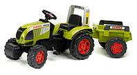 Трактор педальный с прицепом 3-7 лет Falk 991B