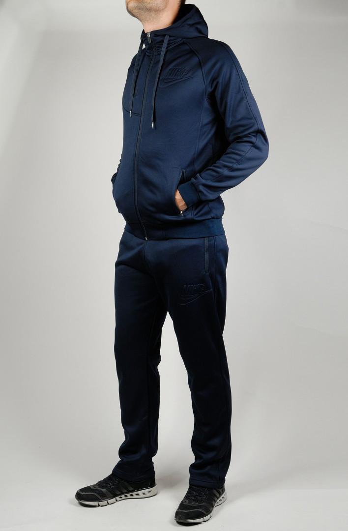 33c2c352 Зимний спортивный костюм NIKE 21251 темно-синий - Брендовая одежда от  интернет-магазина «