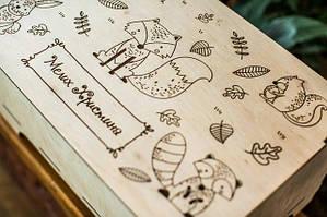 Дитячі коробки з фанери
