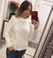 """Красивый и теплый женский свитер """"Золушка"""", фото 1"""