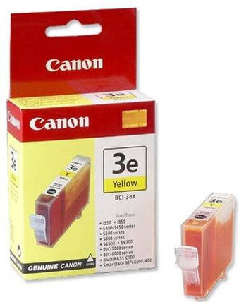 Чернильница Canon BCI-3eY (Yellow) BJC-3000/ 6xxx, BJS-4xxx, фото 2