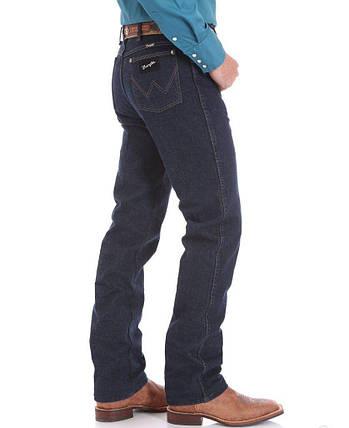 Джисы Wrangler Slim Fit Silver Edition Dark Denim, фото 2