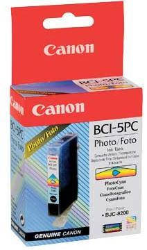 Чернильница Canon BCI-5PC (Photo Cyan) BJC-8200, фото 2