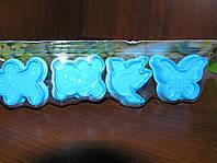 Набор форм-плунжеров Бабочка для печенья,мастики(с прессом) 4шт.