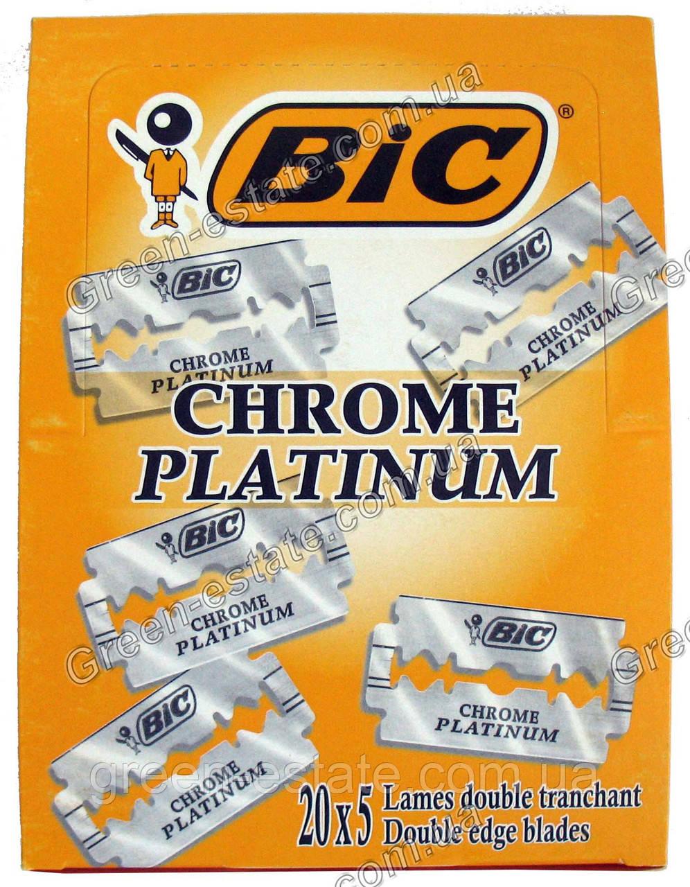 """Леза chrome-platinum """"Bic"""""""