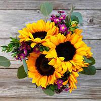 Букет из цветов (Лучистый)