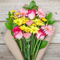Букет из цветов (Солнечный день)