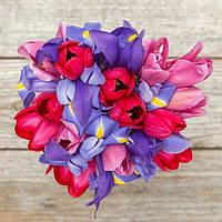 Букет из цветов (Весенняя радость)