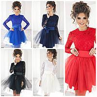 Нарядное платье юбка пышная на новый год р. 42-46