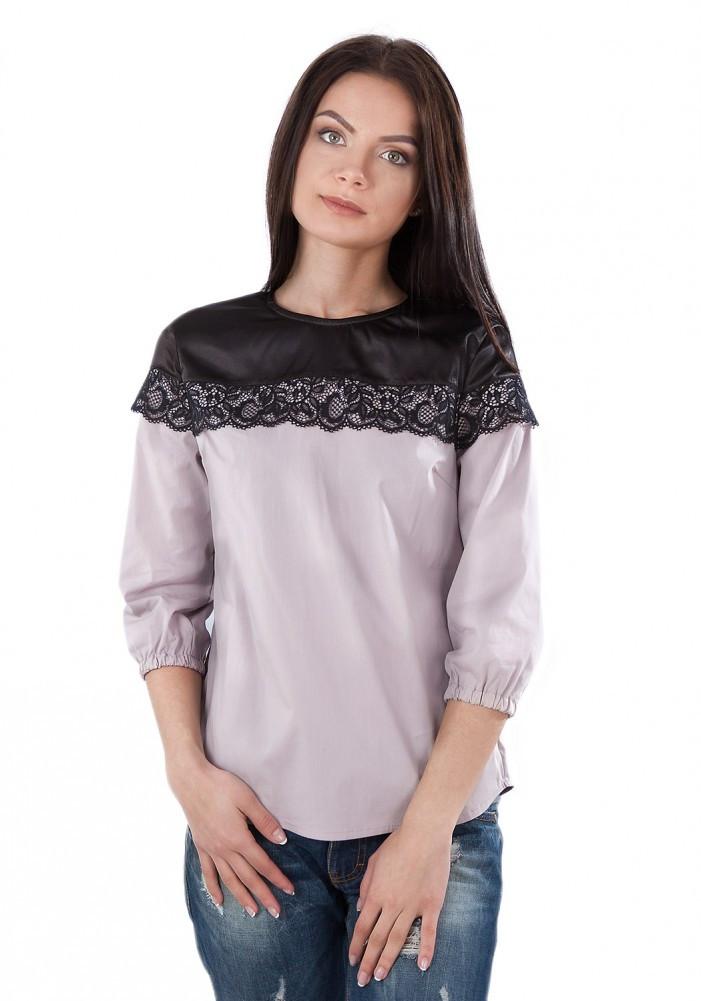 Цікава блузочка з бавовни