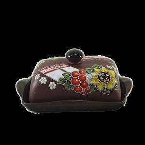 Масленка керамическая «Рушник»