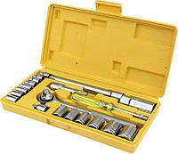 Набор ключей и торцевых насадок MasterTool (78-0257)