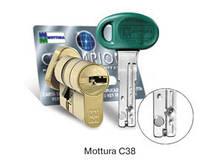 Цилиндр MOTTURA C38F414601RC5 Ключ/поворотник
