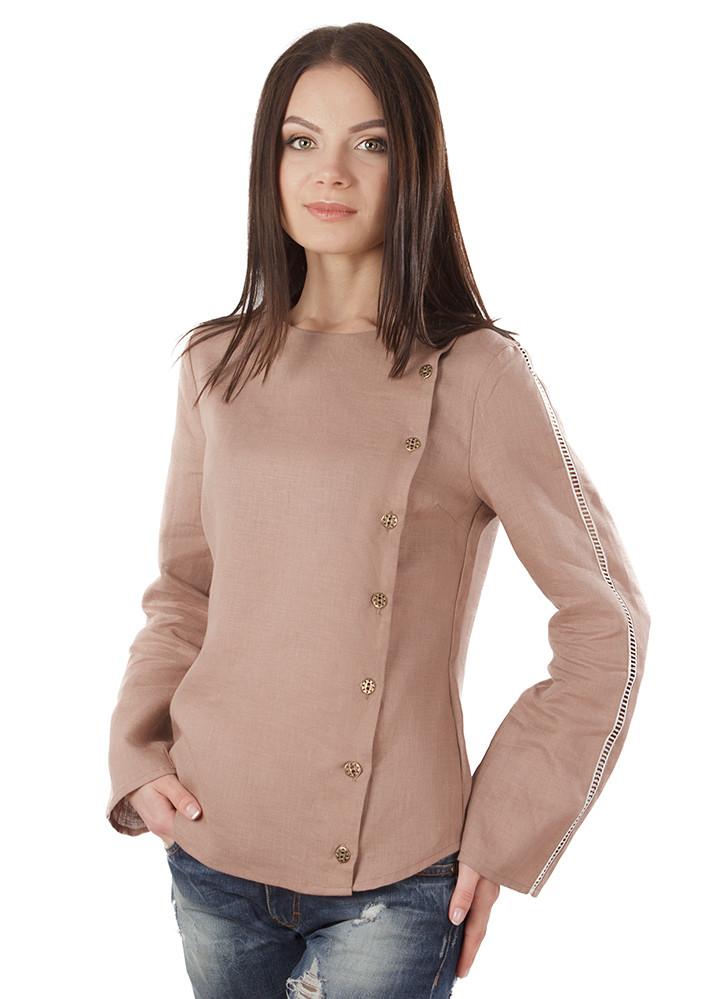 Блуза з 100% льону