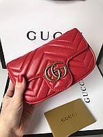Сумочка Gucci из натуральной кожи