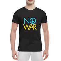 Футболка с принтом NO WAR, фото 1