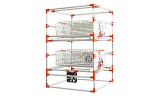 Автоматический инкубатор-конструктор (12V) на 12 страусиных яиц, с увлажнителем и автопереворотом, фото 2