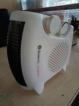 Тепловентилятор,Domotec DT-3300 2000W, Обігрівач/ Дуйка